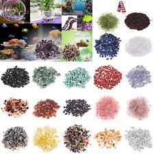 100g Natural Stone Pebble Quartz Gravel Flowerpot Fish Tank Aquarium DIY Decor