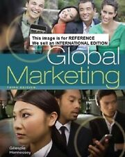 Global Marketing by H David Hennessey, Kate Gillespie (Int' Ed Paperback)3 Ed