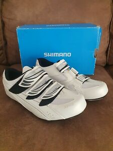New Shimano womens white cycling shoes size 9.5