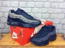 NIKE UK 5.5 EU 38.5 AIR MAX 95 BLUE TRAINERS CHILDREN GIRLS BOYS LADIES