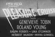 PLEASURE CRUISE (1933) DVD GENEVIEVE TOBIN, RONALD YOUNG