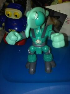 """6"""" Fisher Price Planet Heroes Uranus Action Figure Some Articulation Turquoise"""