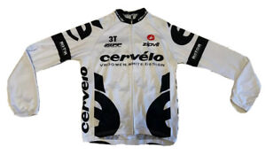 Cycling Castelli Cervelo Jersey Long Sleeve Size-M NLV