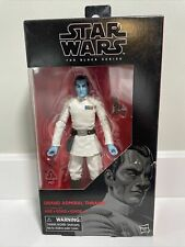 Star Wars The Black Series Wave 12 Grand Admiral Thrawn 6 inch Action Figure...