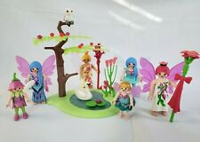 Playmobil Fairies with lake and landscaping  -princess --fairy -castle -magic