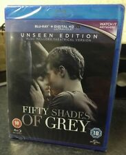 Fifty Shades of Grey: The Unseen Edition [Blu-ray] [2015] New Sealed