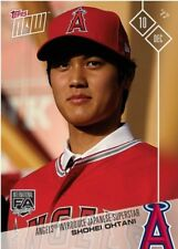 2017 Topps NOW MLB OS-80 Shohei Ohtani Angels Introduce Japanese Superstar