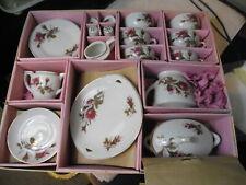 29 pieces of vintage tea sets in original box