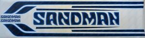 HZ Sandman Decals Stripes Stickers SCREEN PRINTED - CORRECT AS ORIGINAL DY4