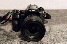 Pentax K K-5 16.3 MP SLR-Digitalkamera - Schwarz (mit Sigma 17-70 f/2,8-4,5)