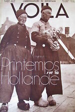 REPORTAGES PHOTOS VOILA 1936 AVIATION AMY MOLLISON PELERIN LA MECQUE HOLLANDE