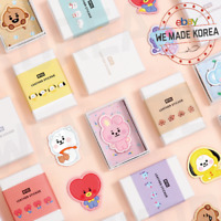 BT21 Character Baby Leather Sticker 4ea Set 7types Official K-POP Authentic MD