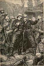 Anglo Zulu War Rorkes Drift Soldiers British Army Empire Africa Print 7x4 Inch