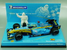 "1/43 Minichamps ""MICHELIN"" RENAULT F1 R26 #1 F.ALONSO WORLD CHAMPION 2006"