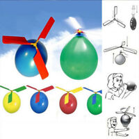 Funny Balloon Helicopter Flying Outdoor Playing Educational Kids Children Toys