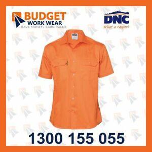 DNC Cool-Breeze S/S Work Shirt (3207)