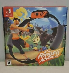 Ring Fit Adventure -- Standard Edition (Nintendo Switch, 2019) Fast Shipping!