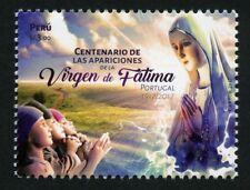 Peru 2017 Heilige Jungfrau von Fatima Religion Madonna Postfrisch MNH