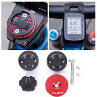 Aluminum Alloy Bike Stem Extension Mount Holder Bracket Red For GARMIN Edge GPS