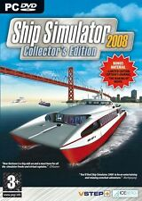 Ship Simulator 2008 Collector's edition simulatore guida navi barche per pc