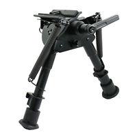"6""- 9"" Spring return Harris style Bipod pivot-lock Sling Swivel for Rifle Alum"