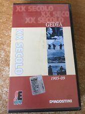 Vhs XX Secolo Gedea 1905 - 09 Dal 1900 al nuovo millennio