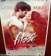 FITOOR BOLLYWOOD DOUBLE SIDED POSTER 27 X 39 ADITYA ROY KAPOOR KATRINA KAIF