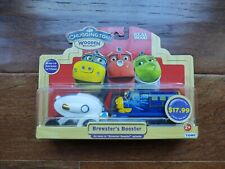 NEW Chuggington Wooden Railway Brewster's Booster Engine + Booster