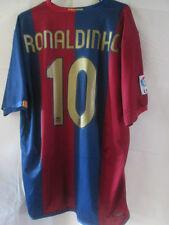 Barcelona Ronaldinho 10 2006-2007 Home Football Shirt Talla Xl / 34105