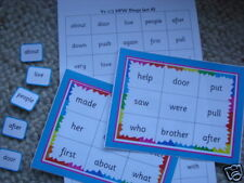 Teaching Resources - Year 1/2 HFW Bingo - Set A