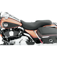 Mustang 76025 Daytripper Leather Seat for 2008-18 Harley FLHT, FLHX Touring
