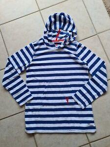 Frotteekleid Bademantel blau weiß Kids TCM 158/ 164 Bad Strand Sauna schwimmen