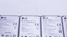 Lot Of 15 Used Oem Lg Bl-54Sh 2460mAh 3.8V Li-Ion Batteries