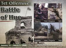 More details for guyana military stamps 2020 mnh vietnam war tet offensive battle of hue 4v m/s