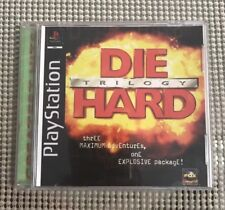 Die Hard Trilogy (Sony PlayStation 1, 1996) No Manual, Tested, Classic