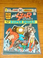 ALL STAR COMICS #59 VG+ (4.5) DC COMICS SUPER SQUAD
