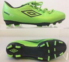Umbro GT Cup Junior Football Boots Cleats UK 4 Green 80451U-CU2 T383