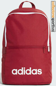 ZAINO ADIDAS LINEAR CLASSIC DAILY BACKPACK - ED0290 col. rosso/bianco