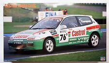 HASEGAWA 1/24 Castrol Honda Civic #20284 scale model kit limited edition