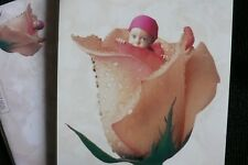 4 Anne Geddes Blank cards with envelopes, Rose, Baby