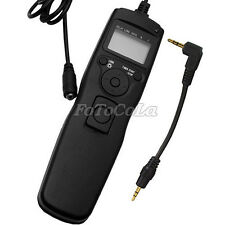 Timer Remote shutter release Cord for Canon EOS 1100D 1200D 600D 60D 70D 60Da