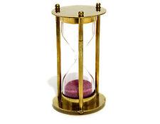 Brass Sand Timer - Hourglass Sand Timer - Decorative-