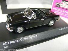 1/43 Minichamps alfa Giulia Spider 1962 negro