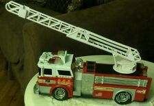 """Road Rippers Rush and Rescue Fire Engine Ladder 12"""" Truck w/Lights and Sounds"""