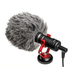 BY-MM1 Cardiod Shotgun Video Microphone MIC Video for iPhone Samsung Camera E&F