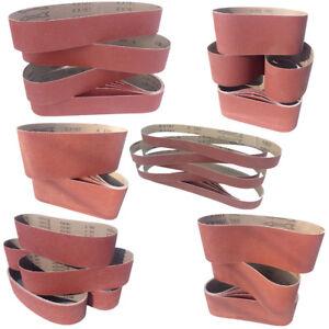 Schleifband Schleifbänder 100x915 75x533 75x457 50x686 Größen wählbar P40-P240