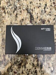 MT-VikI VGA Switch 2 Port