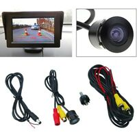 Rear Snap-in Camera 170°Car Parking View  CMOS Backup Color WaterProof Reverse^