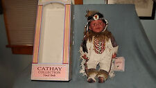 """Cathay Collection Native American 19"""" Vinyl Indian Doll """"Opera"""" No 347 of 5,000"""