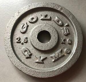Gold's Gym Weight 2.5k
